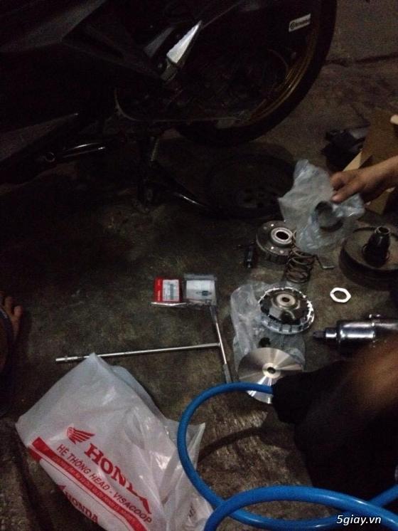 Chuyen Do Noi Xe Tay Ga Full Noi Noi Zin Bao Duong Ve Sinh Noi Cho Yamaha Honda Piago - 39