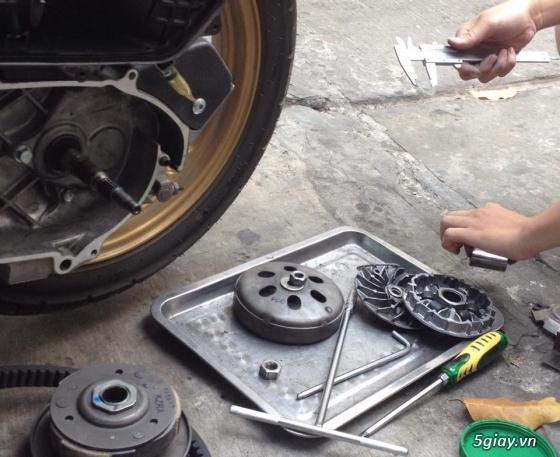 Chuyen Do Noi Xe Tay Ga Full Noi Noi Zin Bao Duong Ve Sinh Noi Cho Yamaha Honda Piago - 40