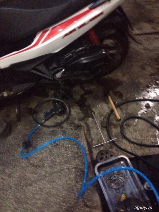 Chuyen Do Noi Xe Tay Ga Full Noi Noi Zin Bao Duong Ve Sinh Noi Cho Yamaha Honda Piago - 41