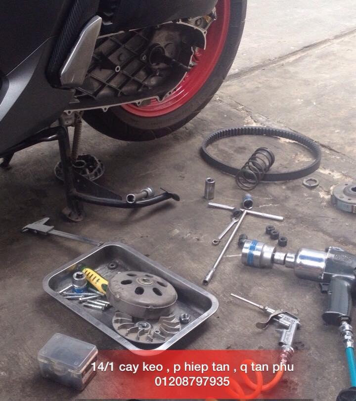 Chuyen Do Noi Xe Tay Ga Full Noi Noi Zin Bao Duong Ve Sinh Noi Cho Yamaha Honda Piago - 31