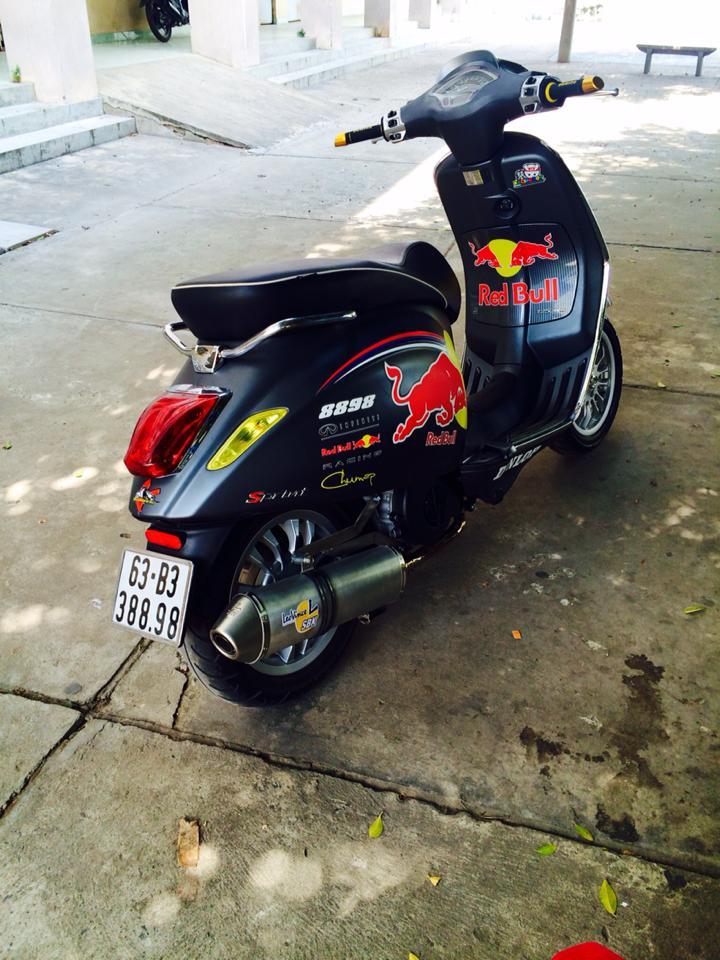 Cap doi Vespa Sprint do phong cach tai Tien Giang - 3