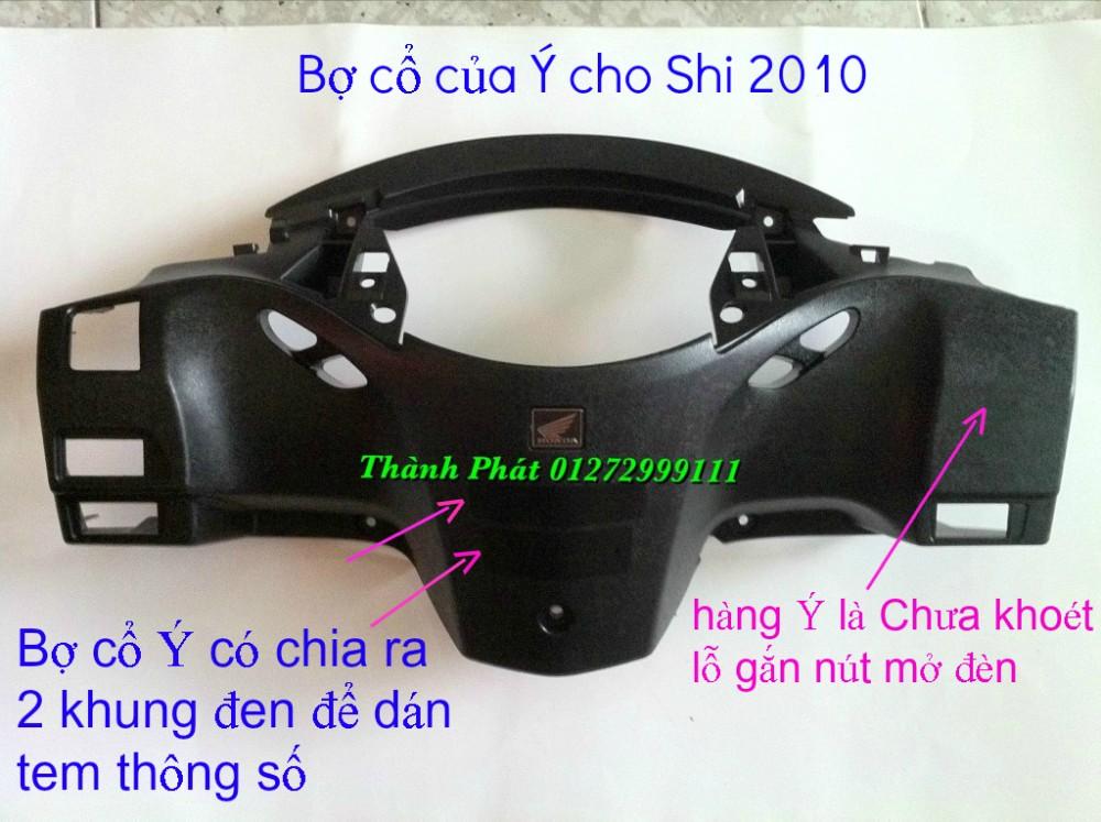 Chuyen Phu tung zin Do choi xe SHi150 2002 2013 Dylan PS - 21