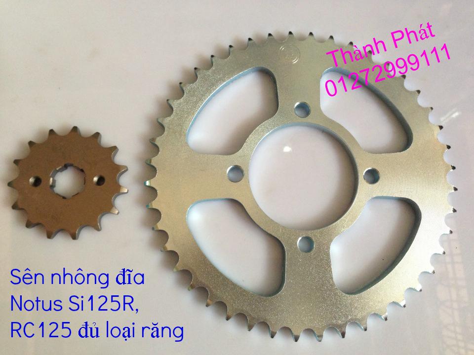 Chuyen phu tung zin va Sen Nhong Dia Honda CB250 CB125 RebeL LA 250 CD125 Yamaha Virago - 47
