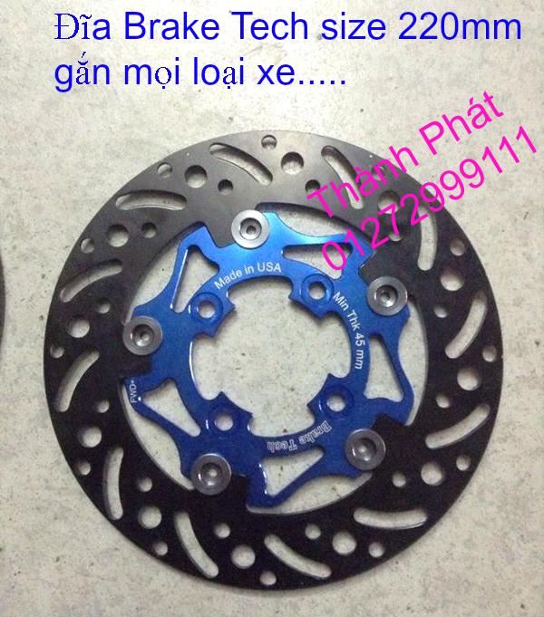 Dia kieu Thai dia Phay CNC YA Z CBR Biker Galfer ARASHI MegaPro Malossi Breaking NCY Ap - 11