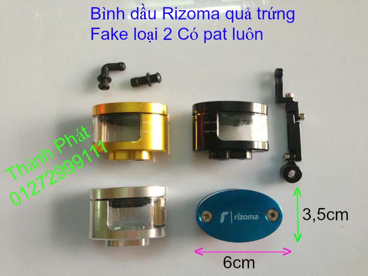 Do choi Rizoma Fake cac loai cho xe PKL va xe nho Bao tay Lux Spotline Gu xeoGu dep Gu dai G - 40