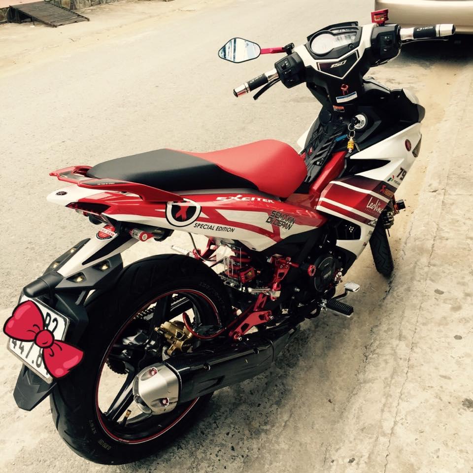 Exciter 150 con cung cua nhung biker thich do kieng - 7