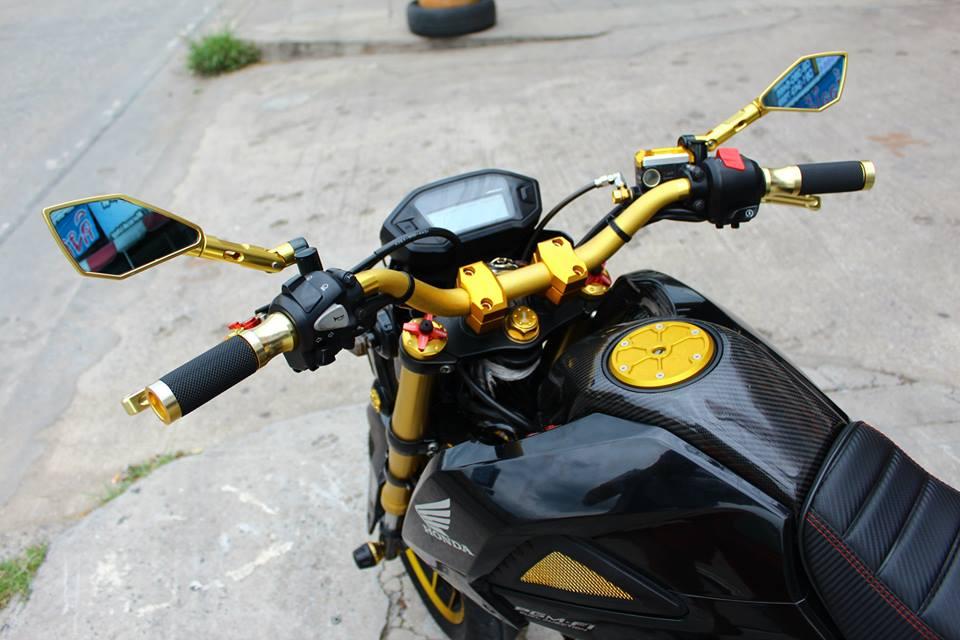 Honda MSX 125 do phong cach tren dat Thai - 2