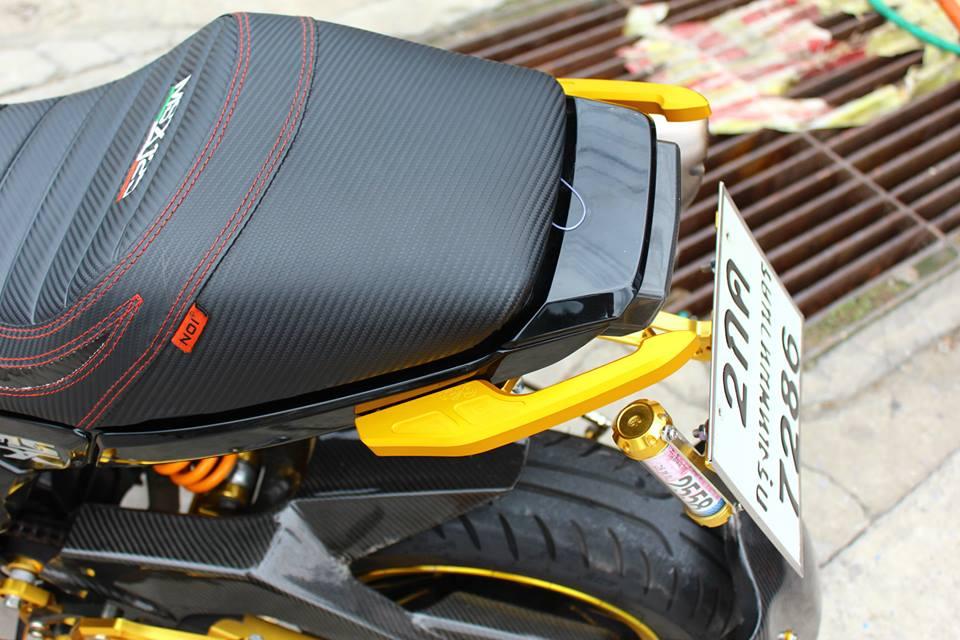 Honda MSX 125 do phong cach tren dat Thai - 10