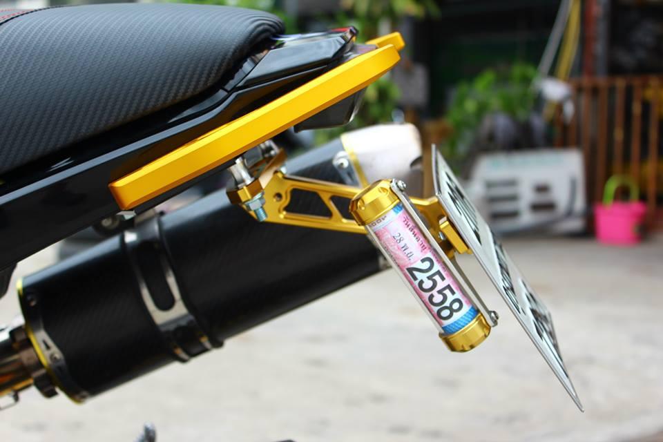 Honda MSX 125 do phong cach tren dat Thai - 11