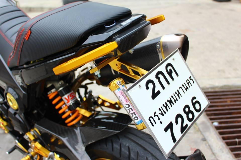 Honda MSX 125 do phong cach tren dat Thai - 12