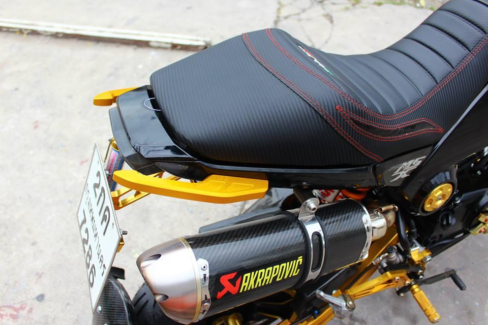 Honda MSX 125 do phong cach tren dat Thai - 13