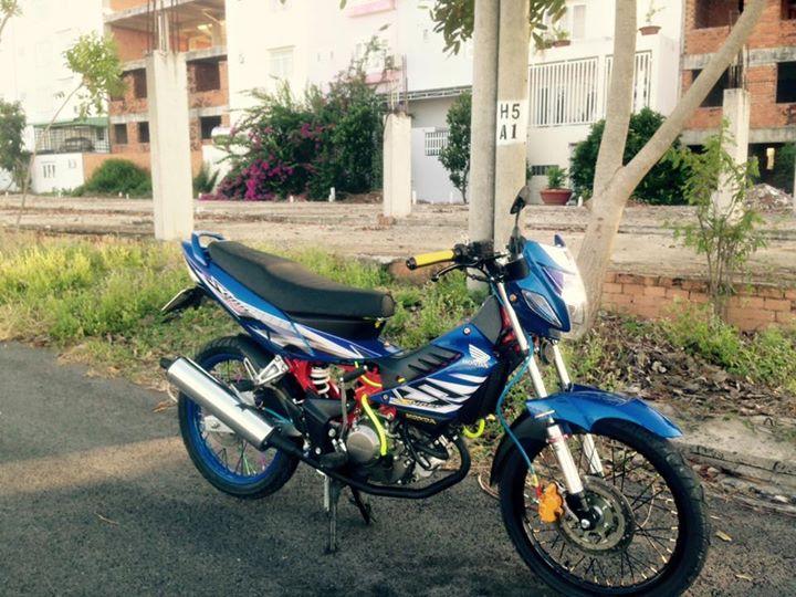 Honda Sonic 125cc su tro lai day an tuong