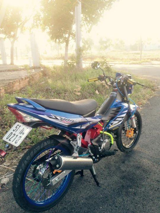 Honda Sonic 125cc su tro lai day an tuong - 2