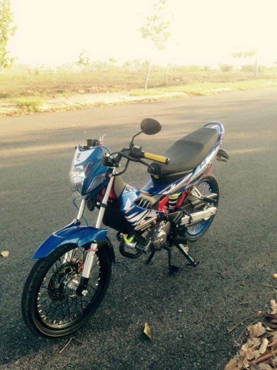 Honda Sonic 125cc su tro lai day an tuong - 3