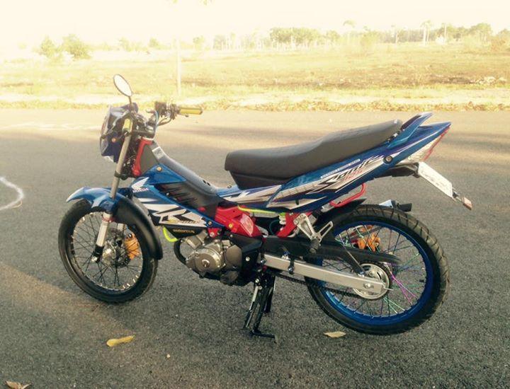 Honda Sonic 125cc su tro lai day an tuong - 5