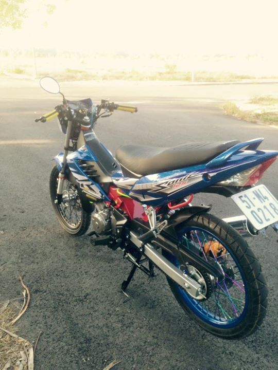 Honda Sonic 125cc su tro lai day an tuong - 6