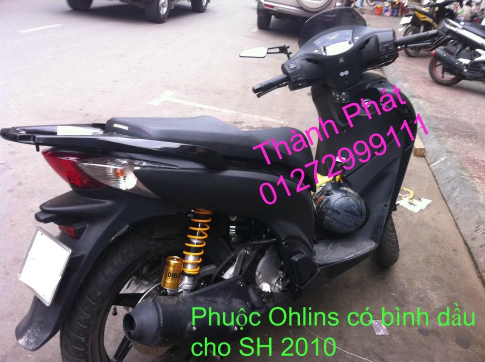 Phuoc Ohlins Fake co binh dau cho Shi Dylan PS AB Nouvo PCX Mio Vision Click i 125 SH Mode - 2