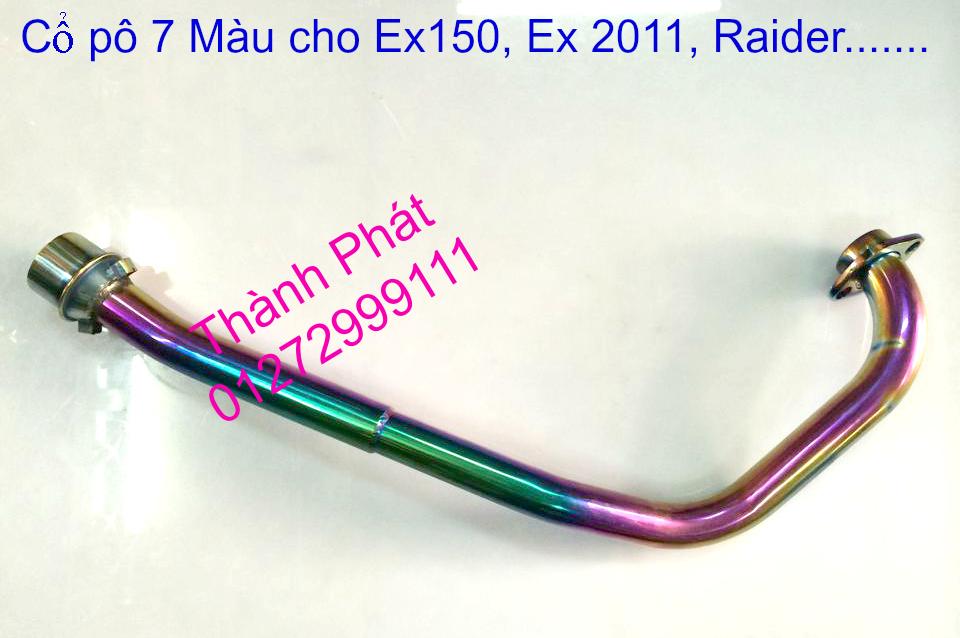 Do choi Exciter 150 tu A Z Po do Chan bun sau kieng kieu Bao tay Tay thang Xinhan kieu S - 43