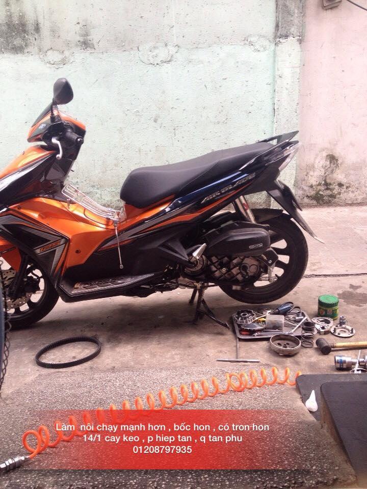 Chuyen Do Noi Xe Tay Ga Full Noi Noi Zin Bao Duong Ve Sinh Noi Cho Yamaha Honda Piago - 25
