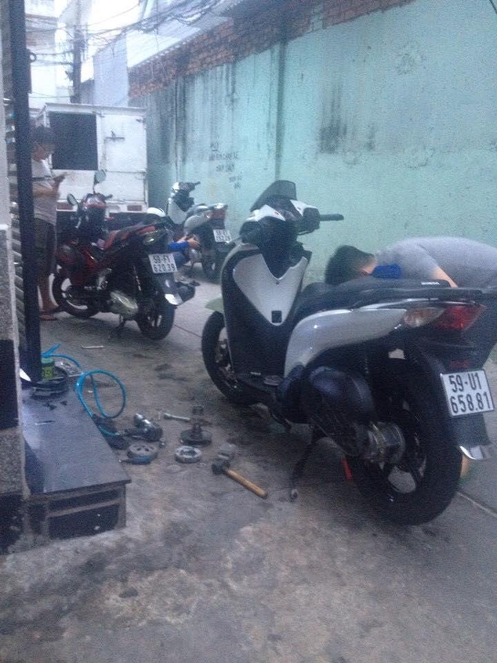 Chuyen Do Noi Xe Tay Ga Full Noi Noi Zin Bao Duong Ve Sinh Noi Cho Yamaha Honda Piago - 26