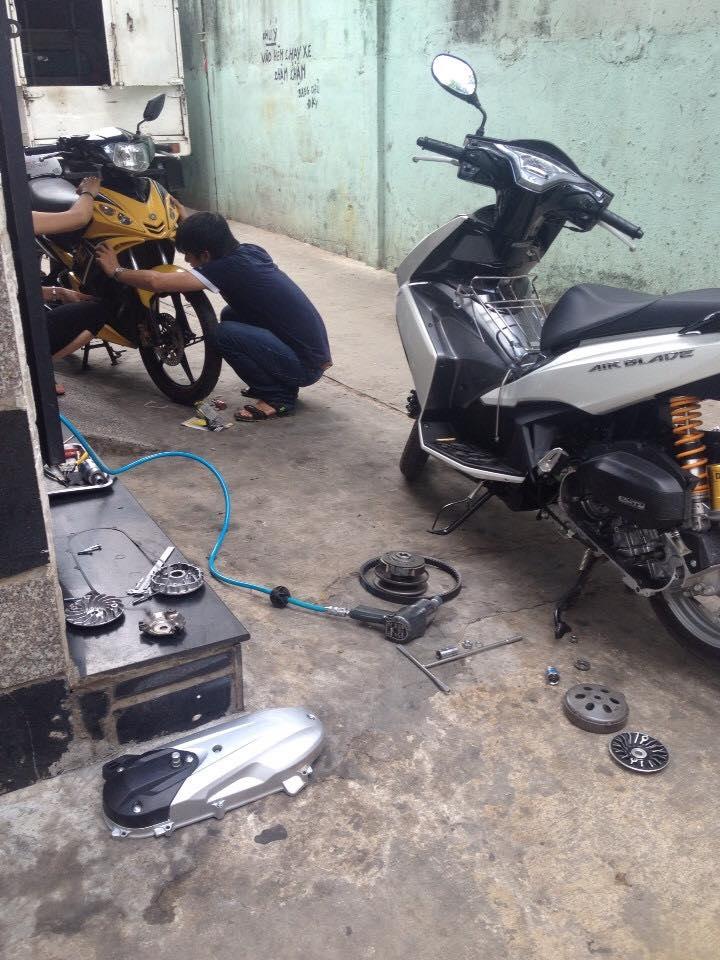 Chuyen Do Noi Xe Tay Ga Full Noi Noi Zin Bao Duong Ve Sinh Noi Cho Yamaha Honda Piago - 30
