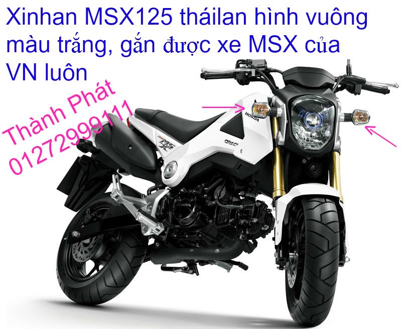 Do choi Honda MSX 125 tu A Z Po do Kinh gio Mo cay Chan bun sau de truoc Ducati Khung suo - 47