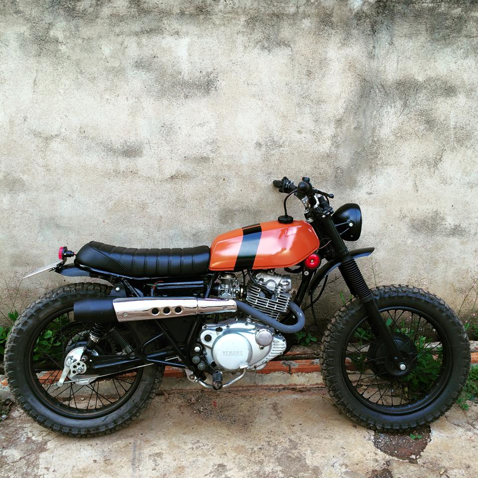 Hinh anh xe do Yamaha SR250 SCrambler - 3