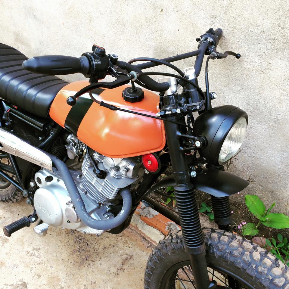 Hinh anh xe do Yamaha SR250 SCrambler - 4