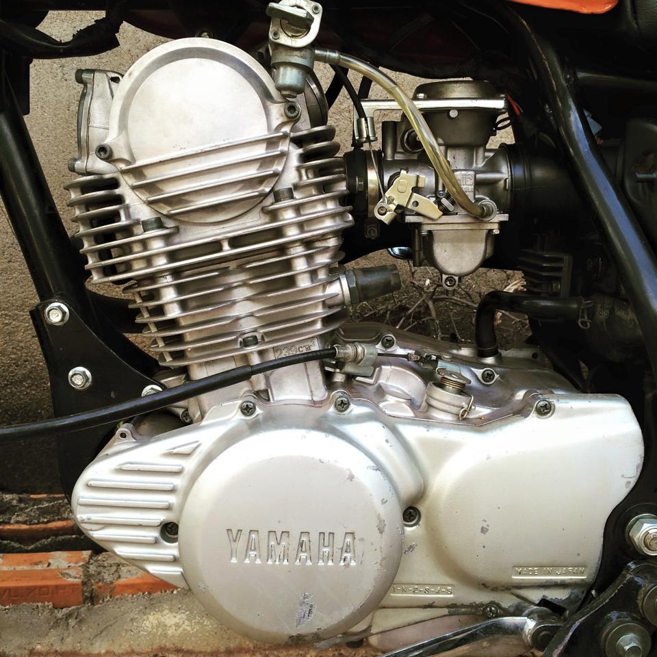 Hinh anh xe do Yamaha SR250 SCrambler - 5