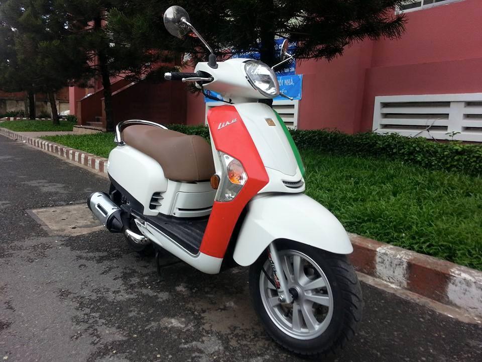 Kymco Like 125 Trang Kieu Dang Vespa Phien Ban 2 Thang Dia Xe Nhap Khau - 4