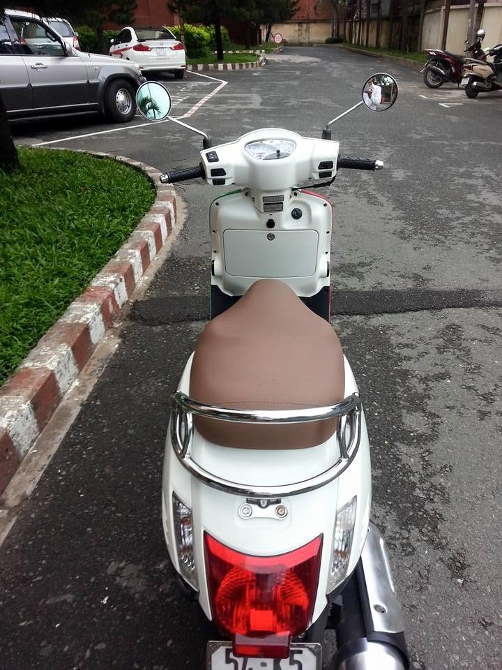 Kymco Like 125 Trang Kieu Dang Vespa Phien Ban 2 Thang Dia Xe Nhap Khau - 6