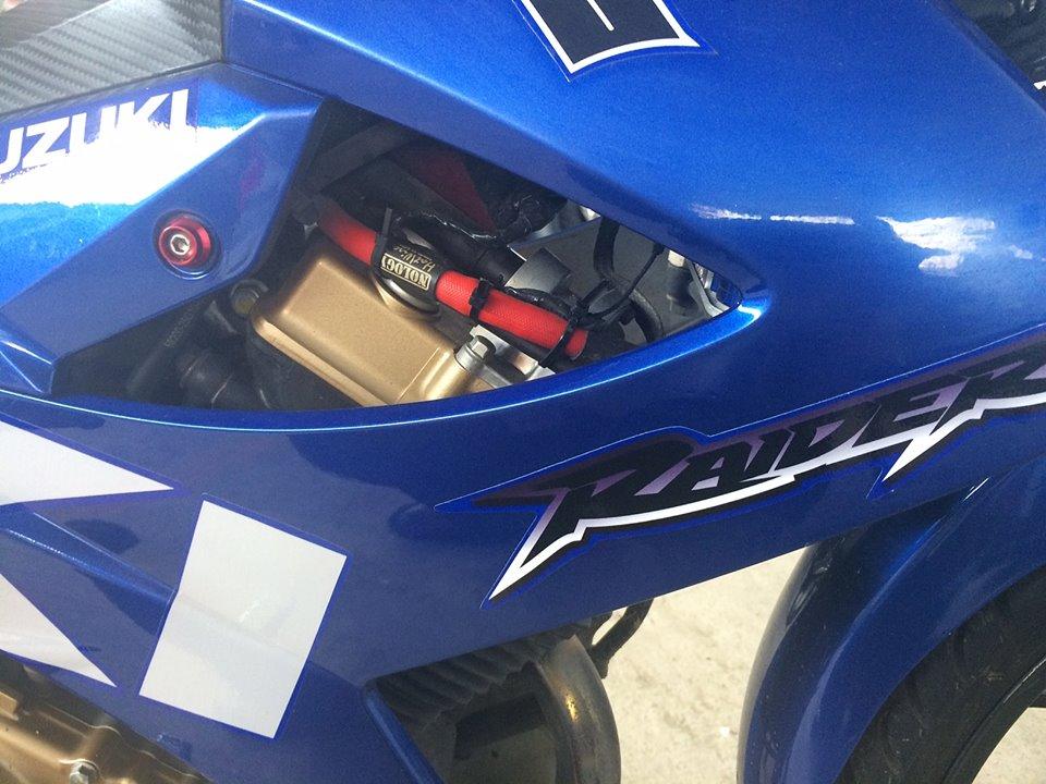 Raider do cuc chat theo phong cach MotoGP - 5
