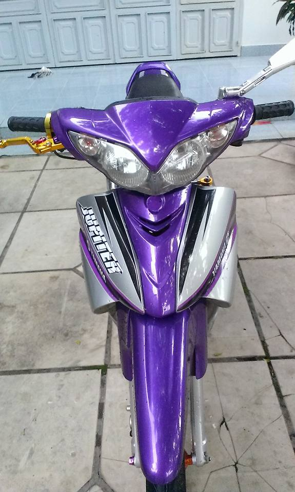 Yamaha Jupiter do kieng tong mau tim huyen bi