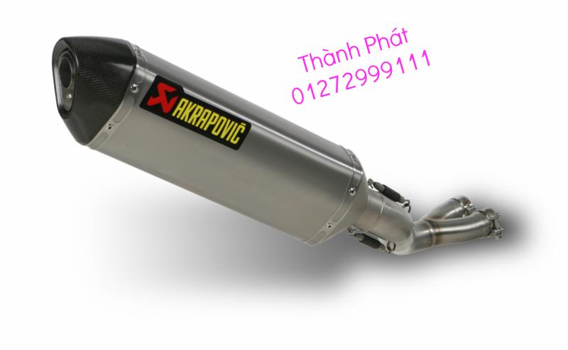 Bo AKAPOVIC cho SH150 SH300 CBR150 FZ16 R15 cac loai xe PKL CB1000 CBR1000 Z1000 ZX10R R6 - 11