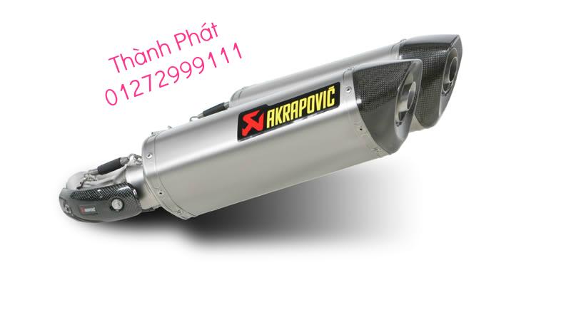 Bo AKAPOVIC cho SH150 SH300 CBR150 FZ16 R15 cac loai xe PKL CB1000 CBR1000 Z1000 ZX10R R6 - 32