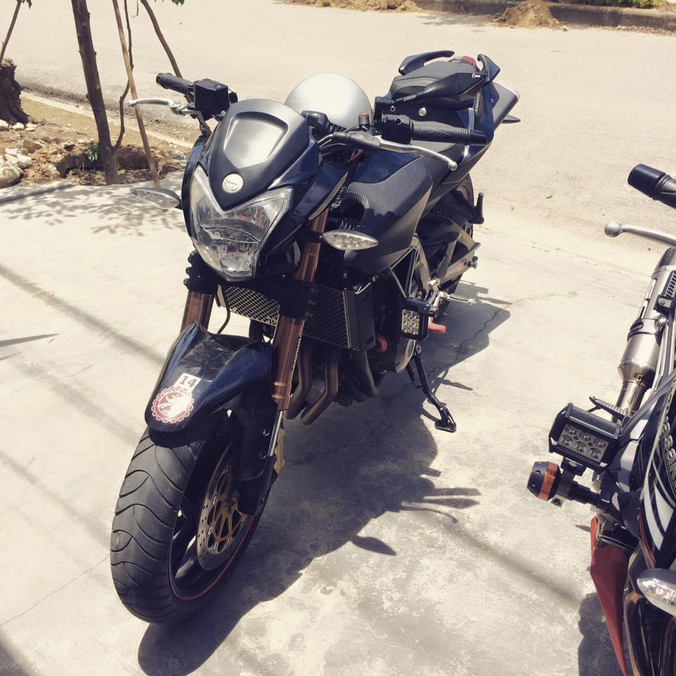 Can ra di co vo mong to Benelli 600cc - 2
