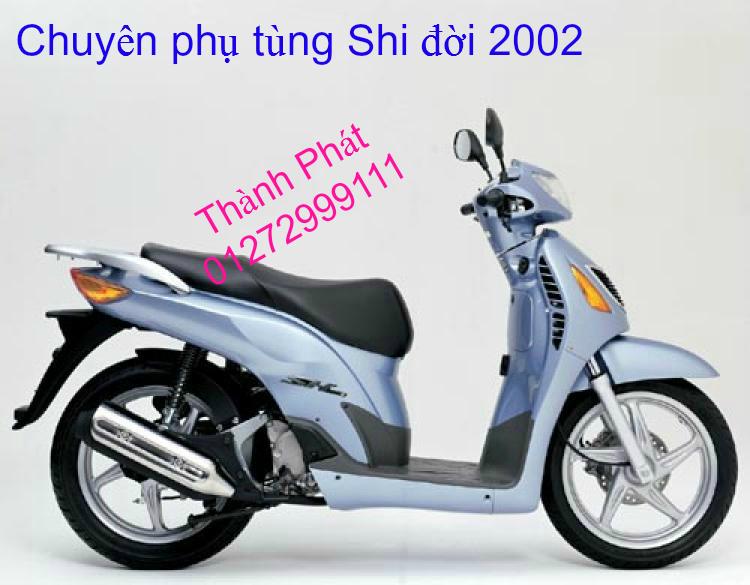 Chuyen Phu tung zin Do choi xe SHi150 2002 2013 Dylan PS - 40