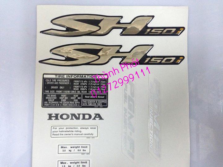 Chuyen Phu tung zin Do choi xe SHi150 2002 2013 Dylan PS - 34
