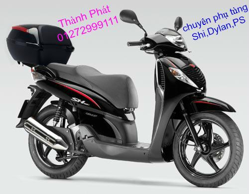 Chuyen Phu tung zin Do choi xe SHi150 2002 2013 Dylan PS - 38