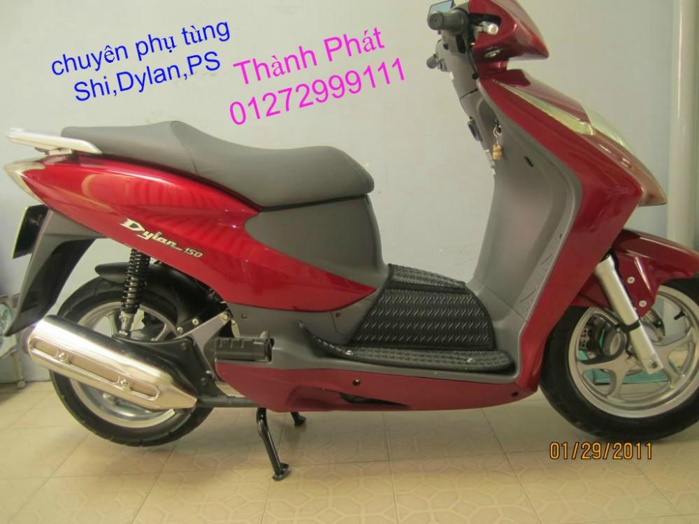 Chuyen Phu tung zin Do choi xe SHi150 2002 2013 Dylan PS - 19