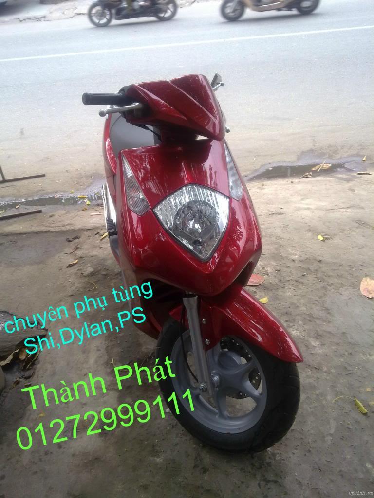 Chuyen Phu tung zin Do choi xe SHi150 2002 2013 Dylan PS - 18