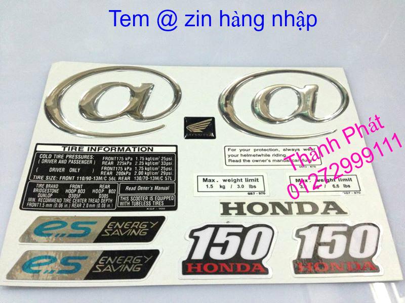 Chuyen Phu tung zin Do choi xe SHi150 2002 2013 Dylan PS - 48
