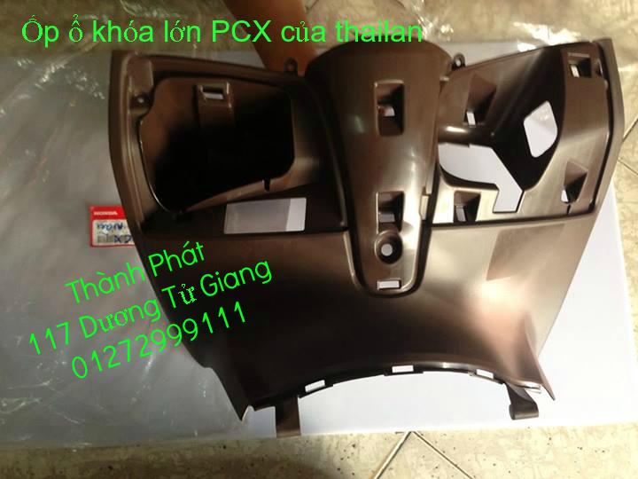 Chuyen Phu tung Zin Honda PCX Thailan va VN doi 2011 doi 2014 day du het do mu va do may Gia tot u - 9
