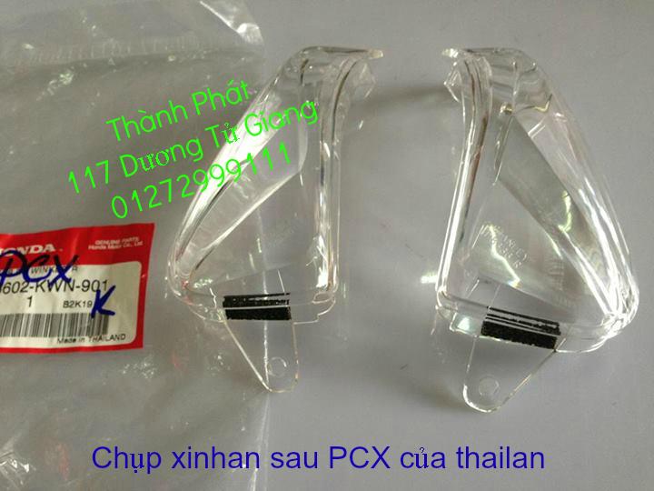 Chuyen Phu tung Zin Honda PCX Thailan va VN doi 2011 doi 2014 day du het do mu va do may Gia tot u - 23