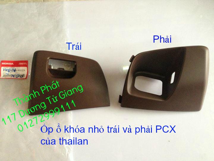 Chuyen Phu tung Zin Honda PCX Thailan va VN doi 2011 doi 2014 day du het do mu va do may Gia tot u - 12