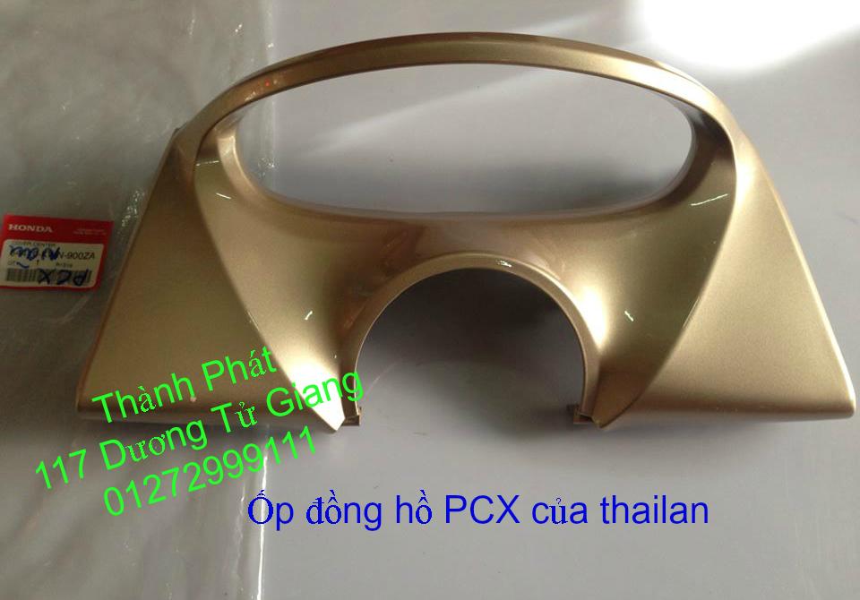 Chuyen Phu tung Zin Honda PCX Thailan va VN doi 2011 doi 2014 day du het do mu va do may Gia tot u - 17