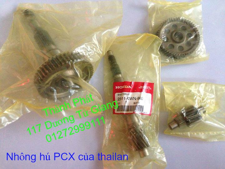 Chuyen Phu tung Zin Honda PCX Thailan va VN doi 2011 doi 2014 day du het do mu va do may Gia tot u - 50