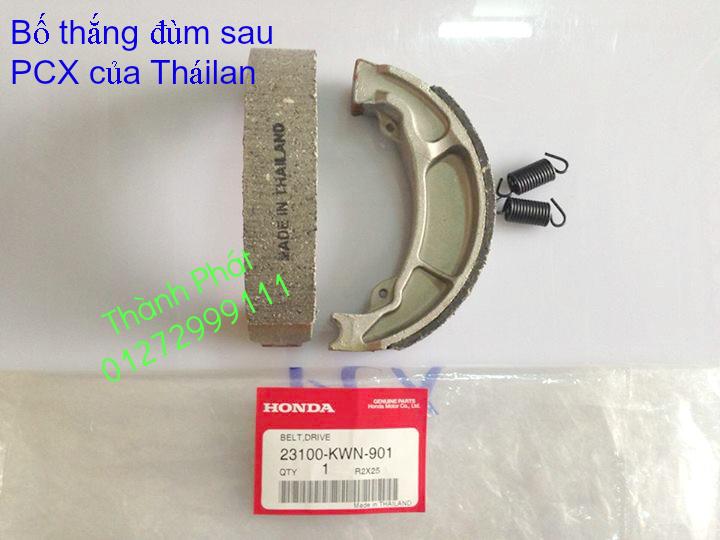 Chuyen Phu tung Zin Honda PCX Thailan va VN doi 2011 doi 2014 day du het do mu va do may Gia tot u - 14