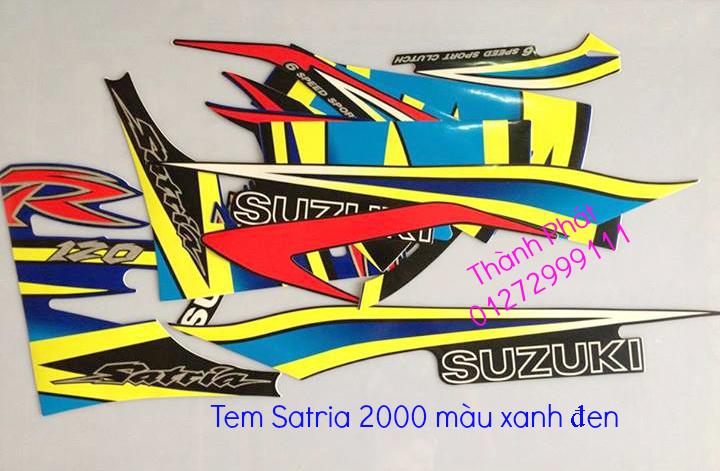 Chuyen phu tung zin Su Xipo Satria YA Z125 date 1997 2013 Gia tot update thang 1 2014 - 23