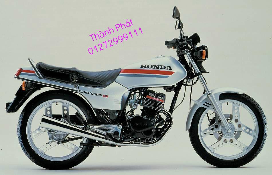 Chuyen phu tung zin va Sen Nhong Dia Honda CB250 CB125 RebeL LA 250 CD125 Yamaha Virago - 7